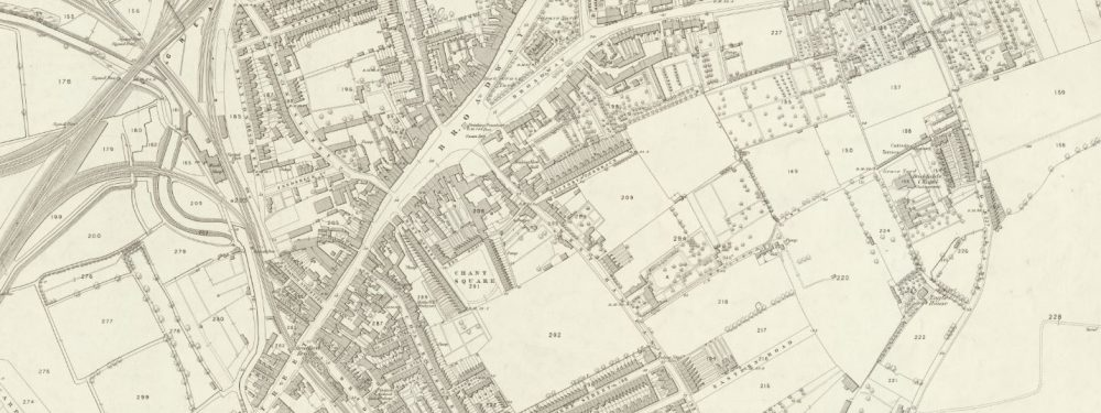 The area in mid-Victorian times: fields and cultivation